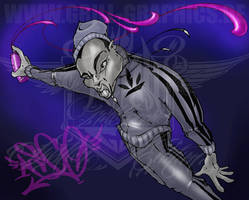 Tattoo, Design, Graffitti, Comic by ASCOE