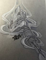 tattoo-machine by ASCOE