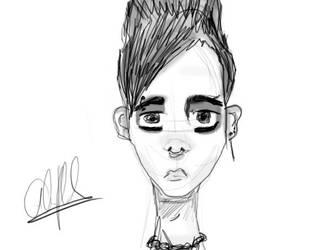 Bill Sketch by AlienAd