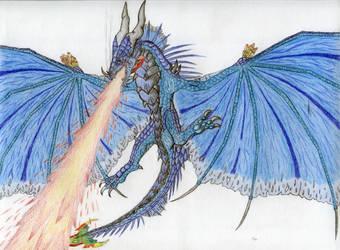Krilvokunmiin, Leviathan of the Skies by Drohung-DragonNinja