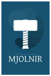 Mjolnir by Trookeye