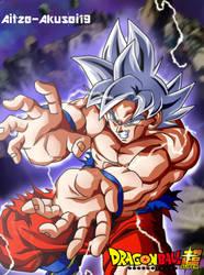 Goku Ultra Instinto Kamehameha  by aitze-akusei19