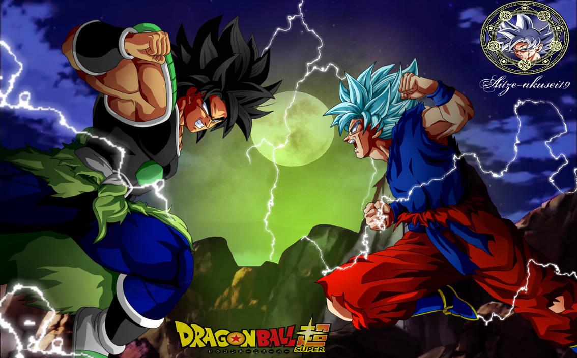DRAGON BALL SUPER  Goku VS Broly by aitze-akusei19