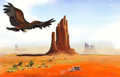 Desert Eagle by The-Urocyon