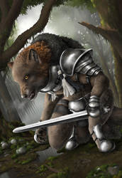 Rhodigir: Son of the Winterwatch by The-Urocyon