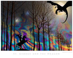 St. George and the Dragon by houselightgallery