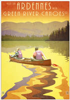 Canoe the Lesse by houselightgallery