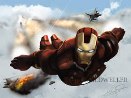 Iron-Man by TheDEviLDweLLeR