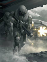 Space Soldiers From the Year 4034 (Sci-fi Story) by thewriter197