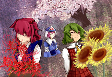flower masters by xibei