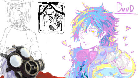 DMMD paintchat by xibei