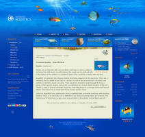 Internet Aquatics: layout by 9gods