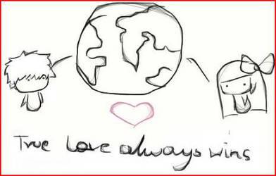 True Love Always Win by Clouxdy