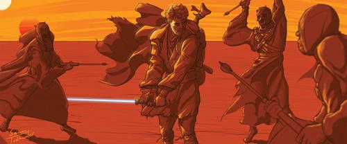 Desert Obi Wan by SamTodhunter