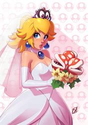 Bride Peach by axt234