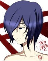 Kirishima Touka Tokyo Ghoul by BlassDeus