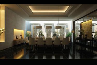 'BALINESE' dining room by Neellss