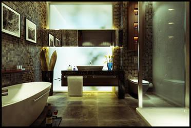 Bath Room by Neellss