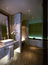 Simple Bath Room by Neellss