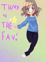 Thnx 4 the fav~! by NekosAndDragons