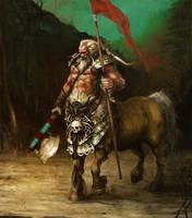 Centaur-Warlord by GammaGrey