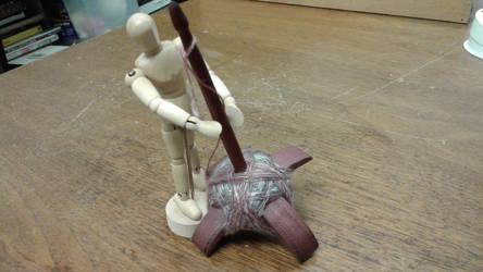 Spinning helper by Elizabethjunean