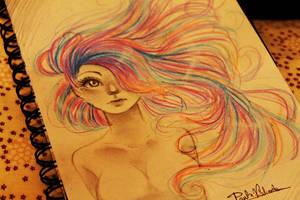 Crazy hair by Nasuki100