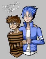 Rigby and Mordecai - Regular Show by Nasuki100