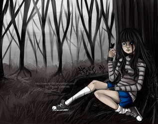 In the forest by Nasuki100