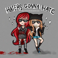 Haters gonna Hate by Nasuki100