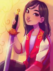 Mulan by Nasuki100