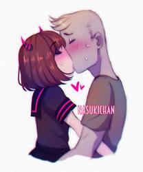 Sweet kiss by Nasuki100