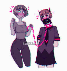 Dolly and Nachike by Nasuki100