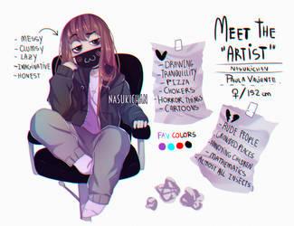Meet the Artist by Nasuki100