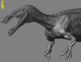 Baryonyx Zbrush by epic3d