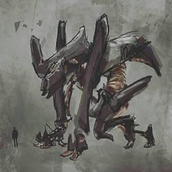 Monster sketch  by Jmc117