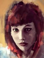 Redhead painting by Jmc117