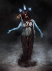 The blue queen by Jmc117