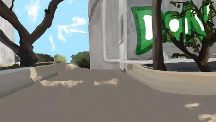 (1) Tunisia Backyard by EddStuff
