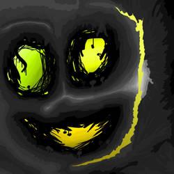 Spooky Mushroom Cave by EddStuff
