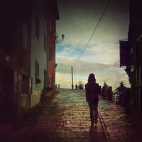 up to the town by lejaaaaaaaa