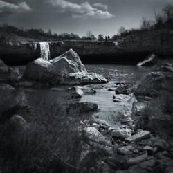 walk on the waterfall by lejaaaaaaaa