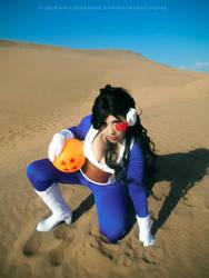 Lady Vegeta - Dragon Ball Z by Norikow