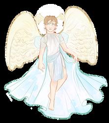 [ORIGINAL WORKS] angel harold. by euryd-ce