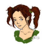 Young Lara by FortuRaider