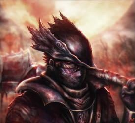 Hunter - Bloodborne by Yanporfirio
