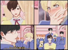 BTS x Ouran High School Host Club by Cosmicpens