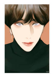 Yoongi by Cosmicpens