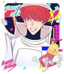 HAPPY JK DAY by Cosmicpens
