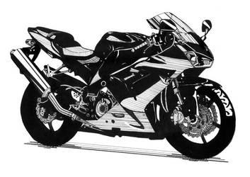 Motorcycle by jennyelf02